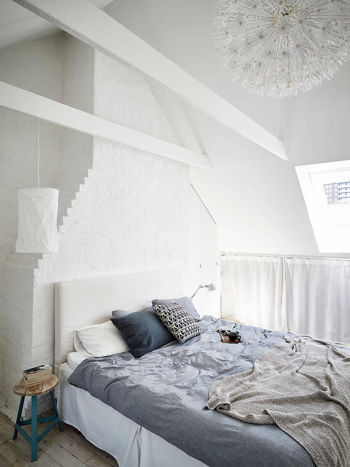 slaapkamer grijs