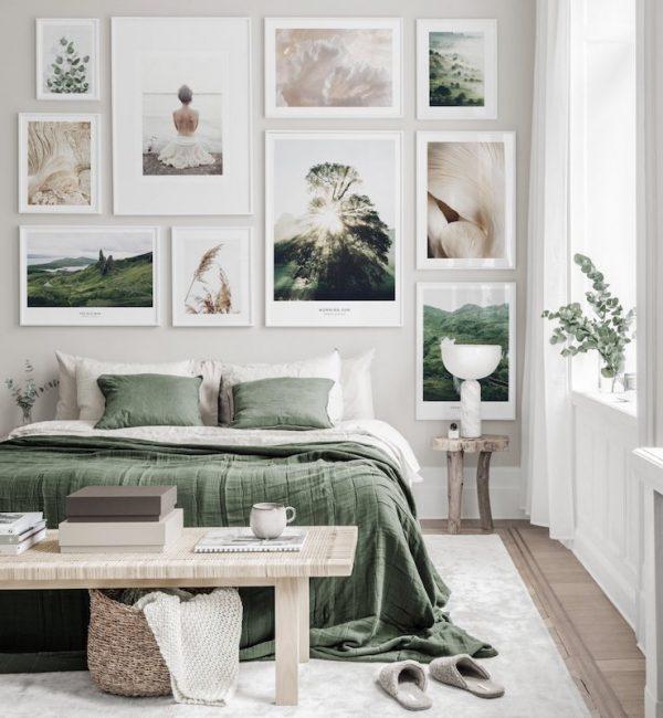 slaapkamer ideeën wanddecoratie