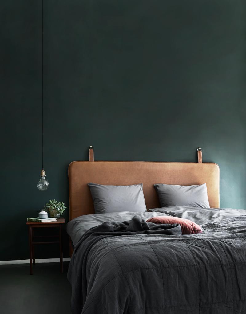 slaapkamer kleur groen