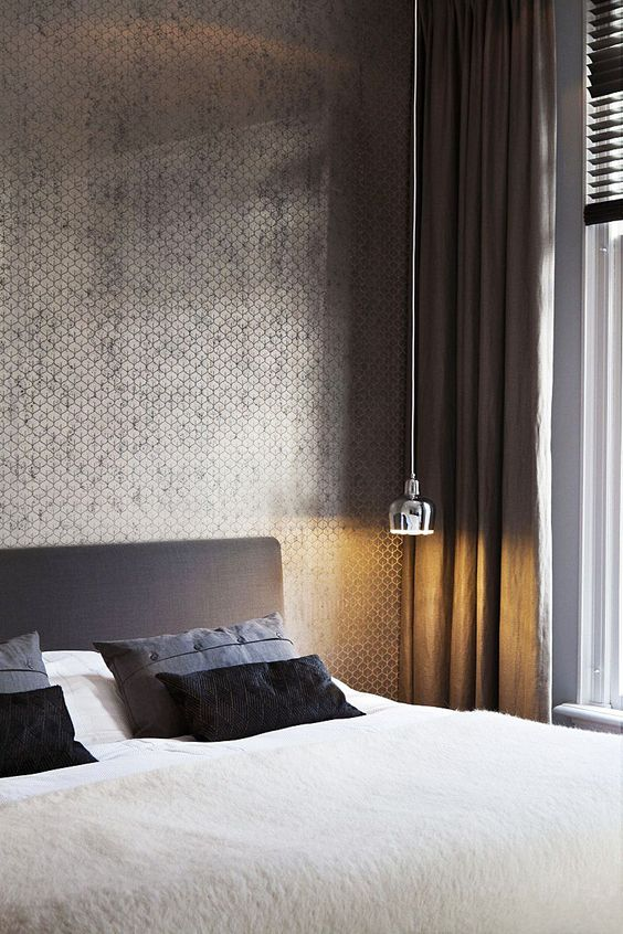 slaapkamer kleur zilver