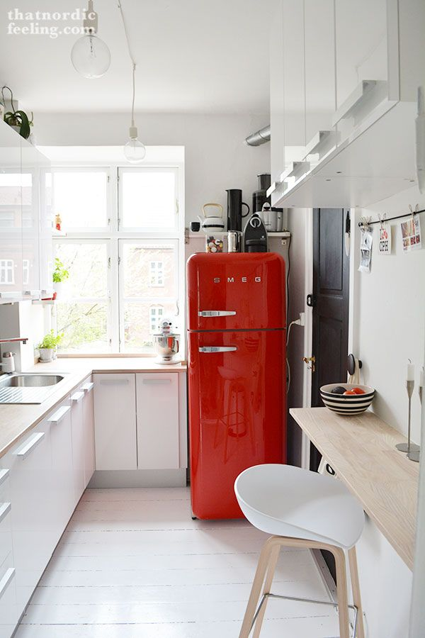 Smeg koelkast keuken thestylebox for Interieur frigo smeg