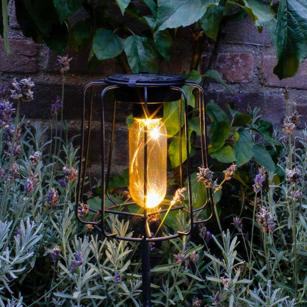 solar tuinverlichting industrieel prikspot