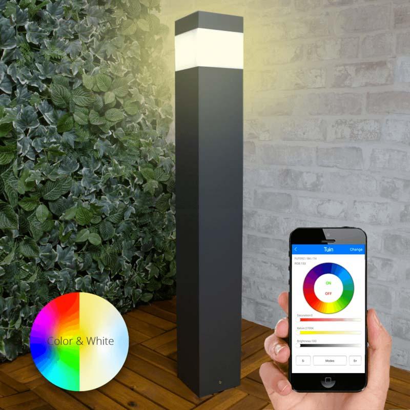 solar tuinverlichting philips hue mobiel