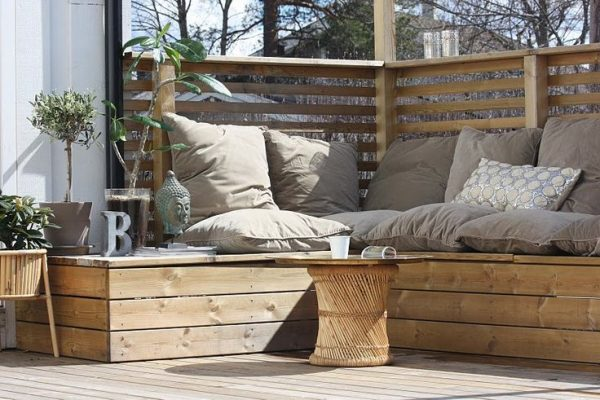 Steigerhouten tuinmeubelen thestylebox for Loungeset steigerhout zelf maken