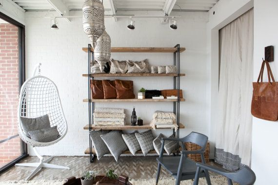 Stellingkast in de woonkamer thestylebox for Woonkamer industrieel