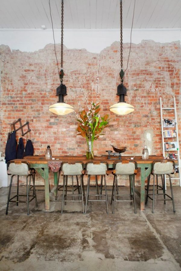 Stenen muur interieur - THESTYLEBOX