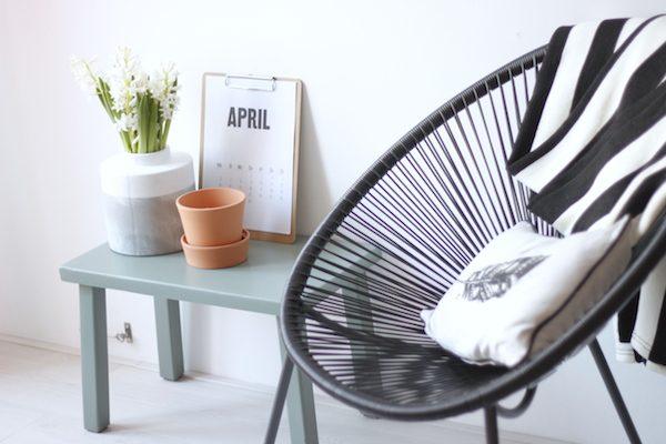 stoel stylen