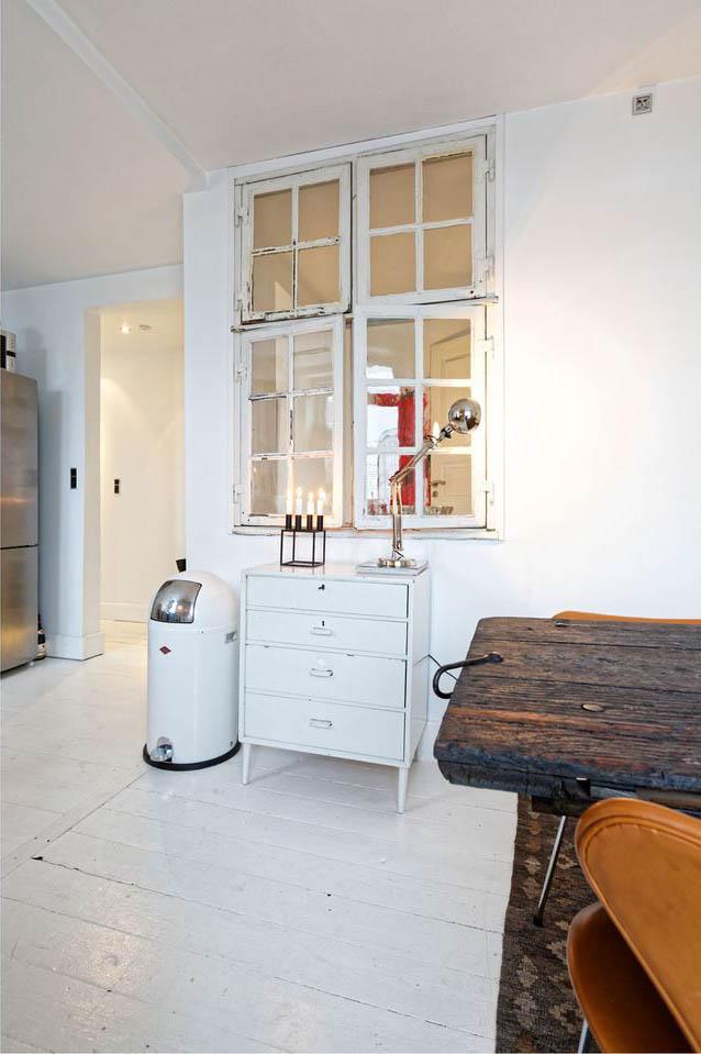 Stoere vintage keuken van Josefin