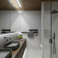strakke gietvloer badkamer