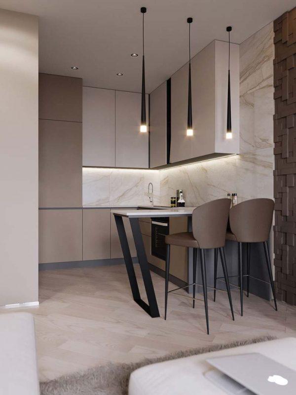 taupe interieur taupe keuken