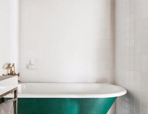 Ronde spiegel badkamer thestylebox - Tegel patroon badkamer ...