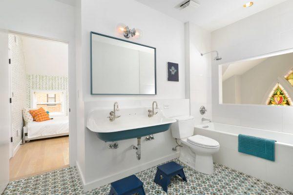 tegelvloer badkamer