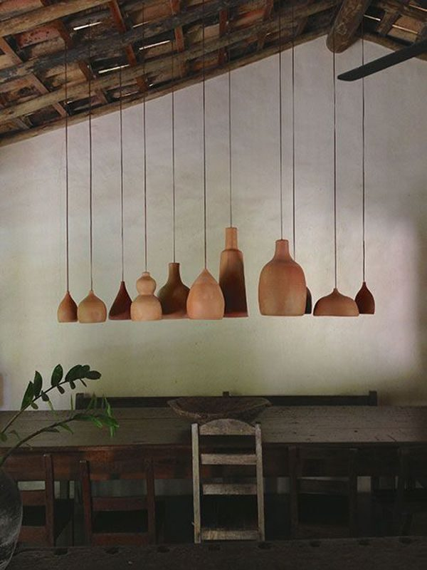 terracotta design lampen