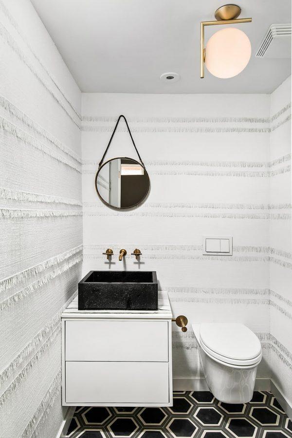 toilet behang ideeen
