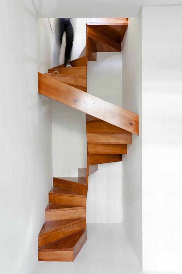 trap bekleden houten trap