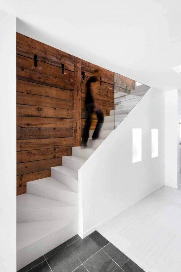 Inspiratie voor de trap thestylebox - Witte houten trap ...