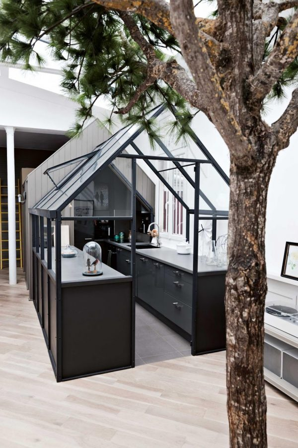 tree greenhouse keuken