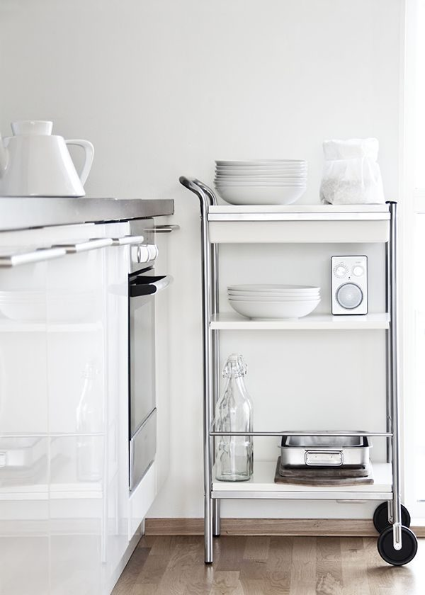 Trolley in de keuken   thestylebox