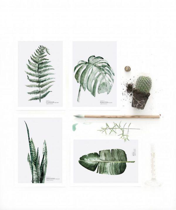 urban botanic poster