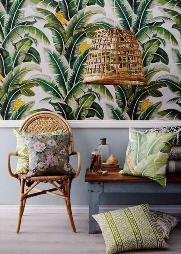 Behang met een patroon - THESTYLEBOX
