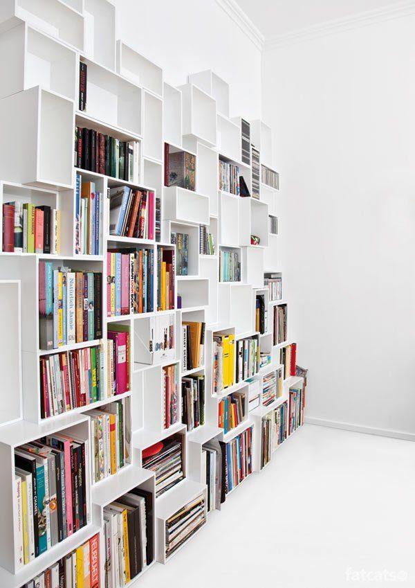 vakjes boekenkast