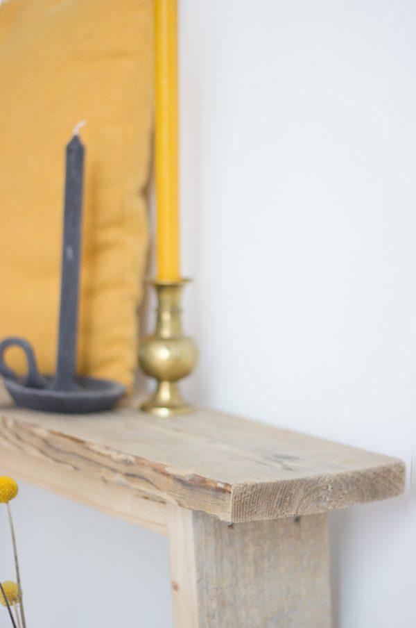 van stoer hout bankje