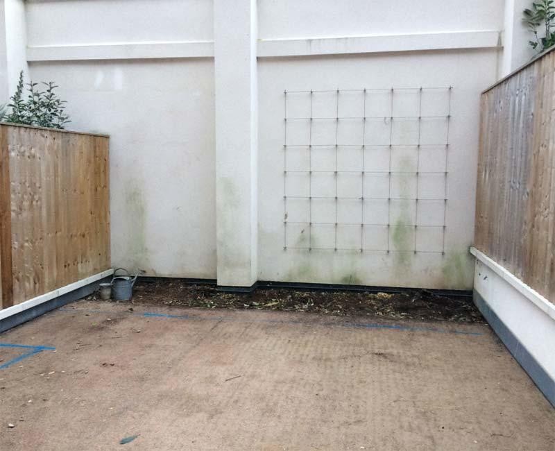 verbouwing intieme moderne tuin