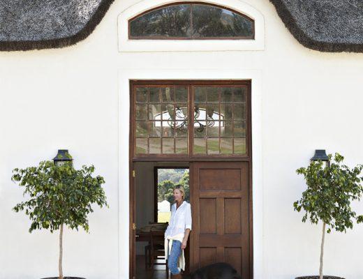 villa zuid afrika voordeur