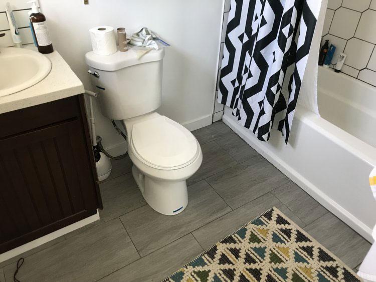 Vintage chique badkamer verbouwing