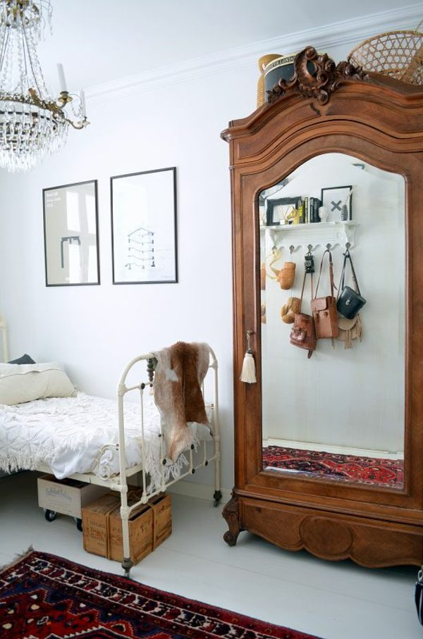 vintage kast slaapkamer