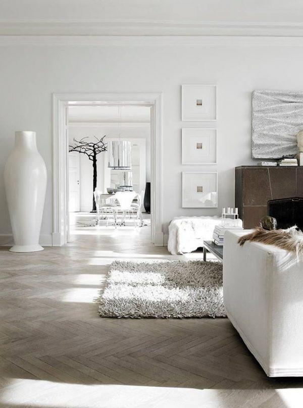 Visgraat vloer woonkamer - THESTYLEBOX