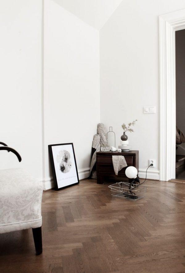 visgraatvloer woonkamer
