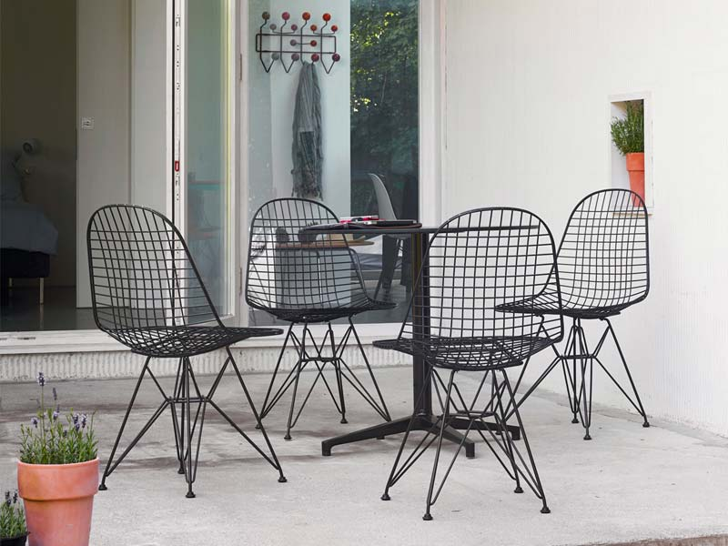 vitra eames dkr wire stoel