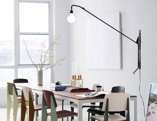 vitra prouve design lamp