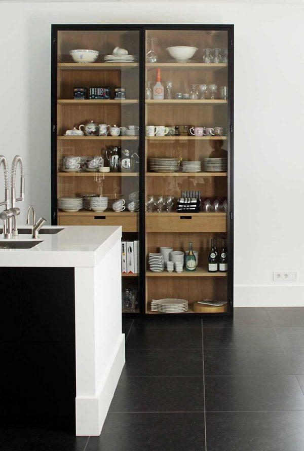 vitrinekast keuken