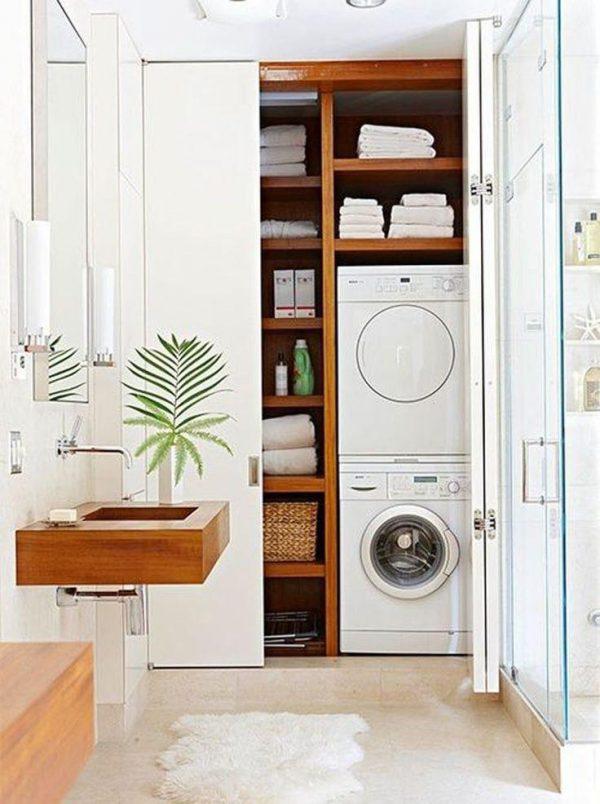 wasmachine opbergen