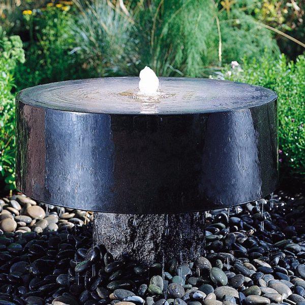 waterornament gepolijst graniet
