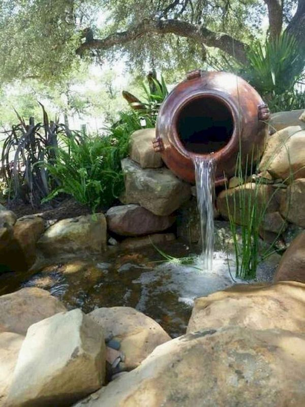 waterornament schaduw
