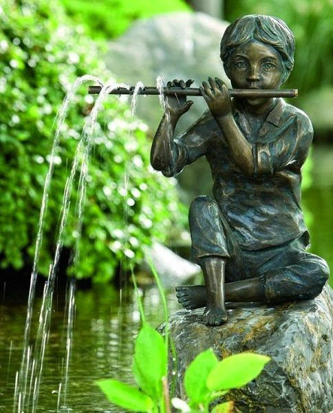 waterornament sculptuur