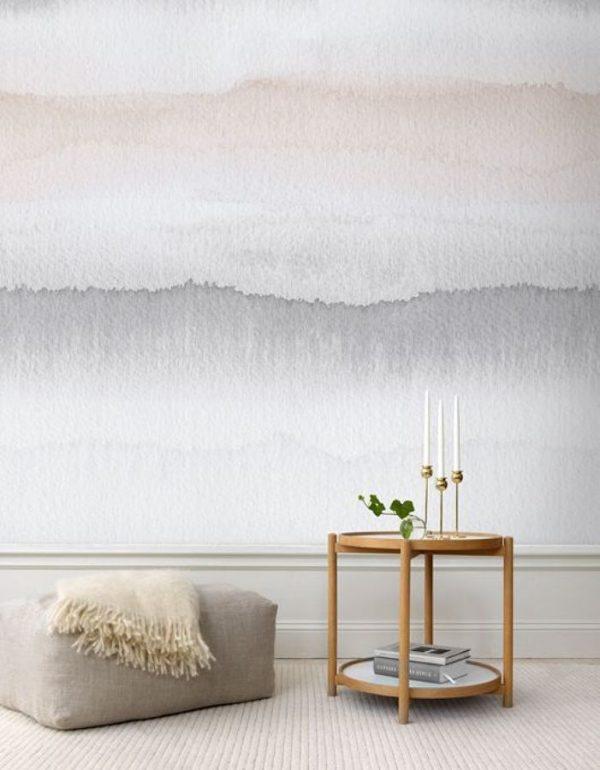 waterverf muur