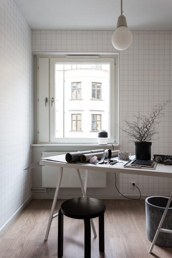 werkplek appartement
