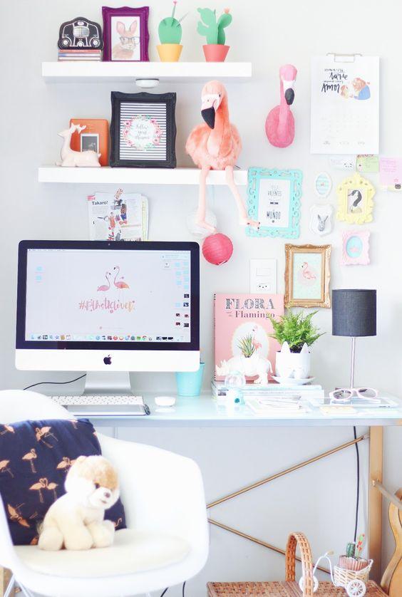 werkplek-inrichten-vrouwelijk-flamingo