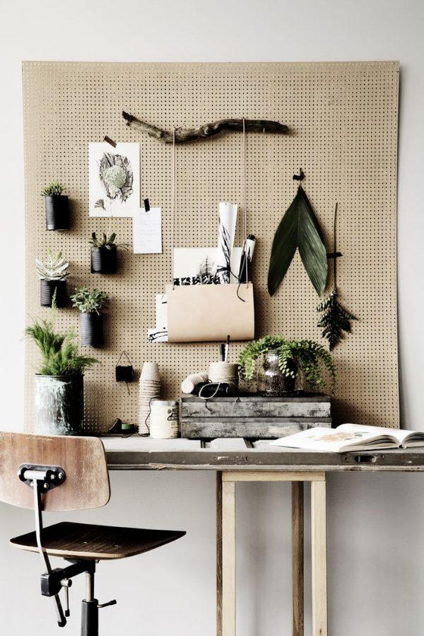 werkplek planten