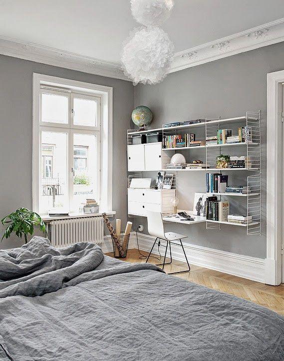 Werkplek in de slaapkamer - THESTYLEBOX