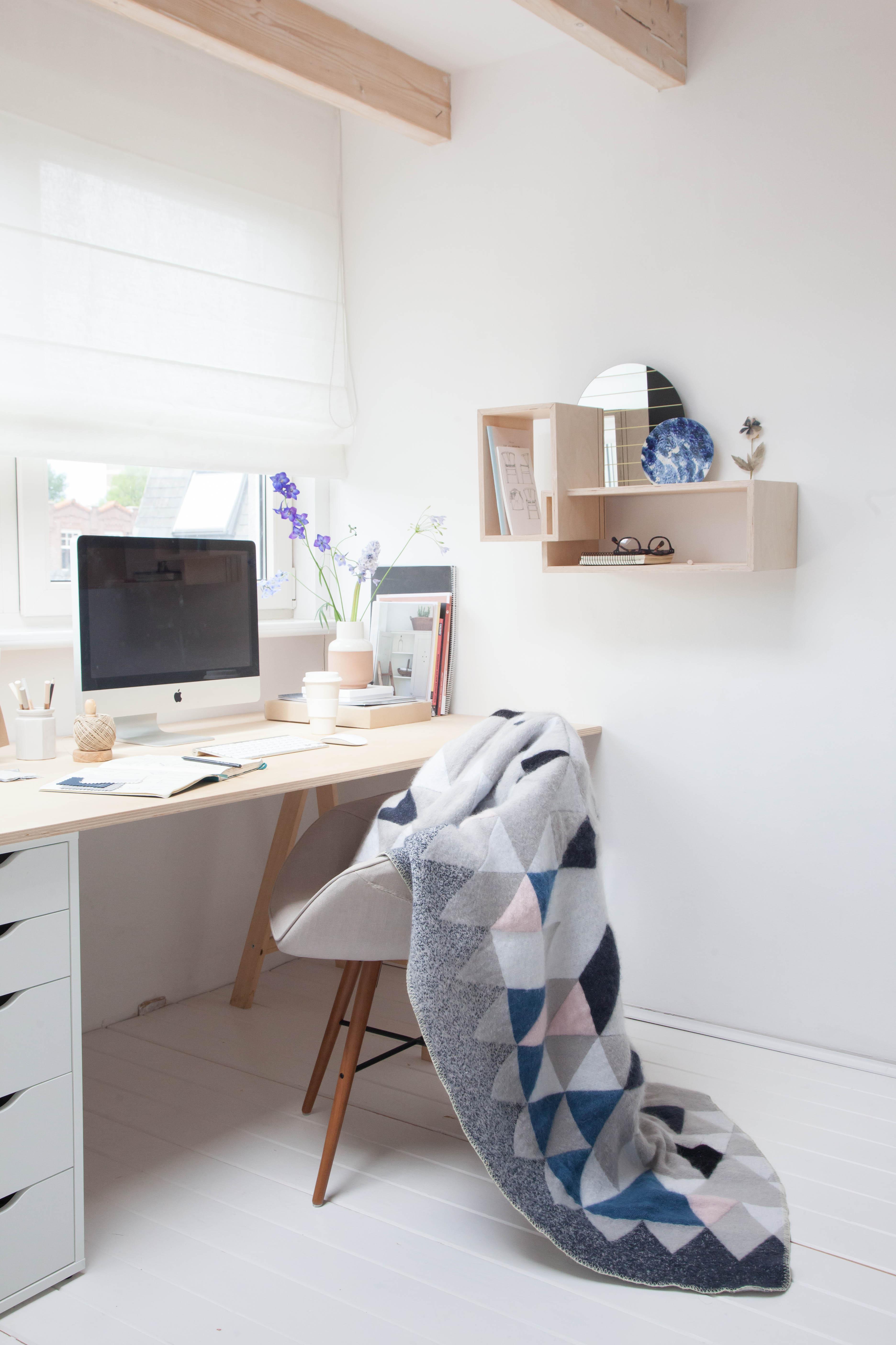 8x inspirerende werkplekken thestylebox - Kamer modern meisje ...