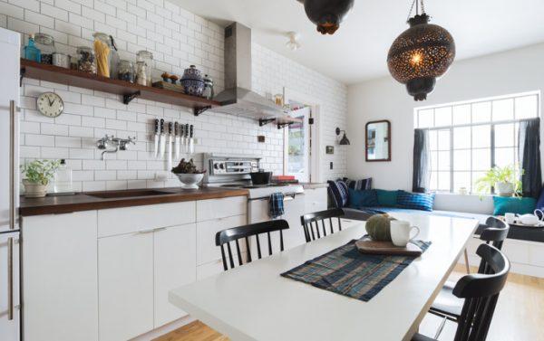 wit hout keuken