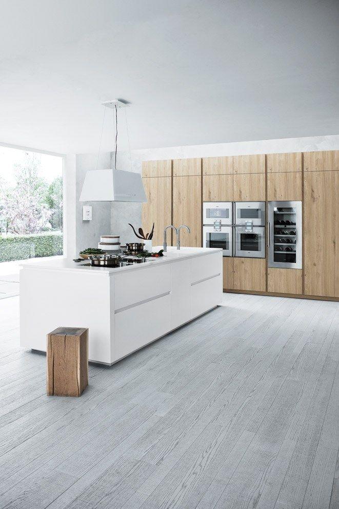 Keukeneiland Wit : Witte keuken THESTYLEBOX