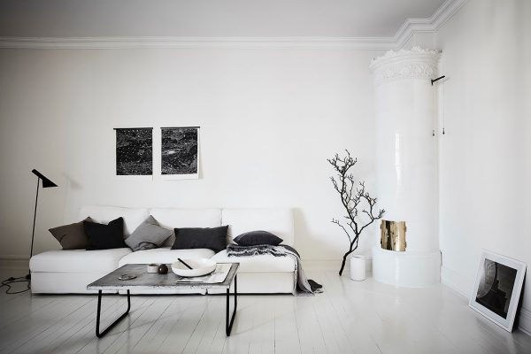 Zwart wit appartement - THESTYLEBOX