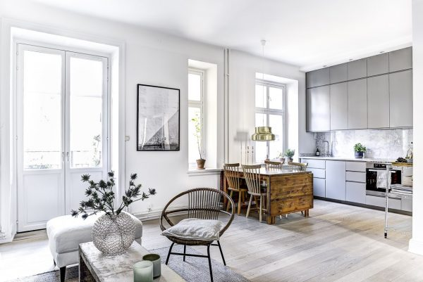 Minimalistisch appartement in stockholm thestylebox