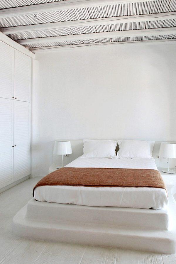 witte ibiza slaapkamer